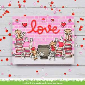 Pull Tab Valentine's Day Card