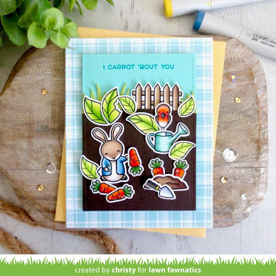 Peter Rabbit Inspired Card