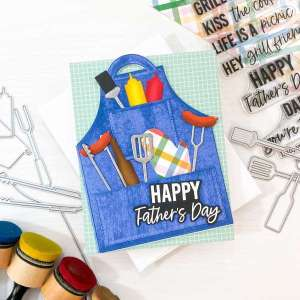 Father's Day Apron Card