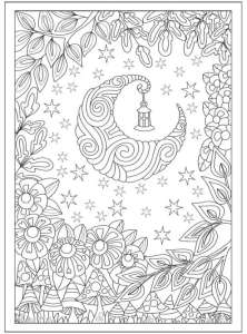 6 Starry Skies Coloring Pages