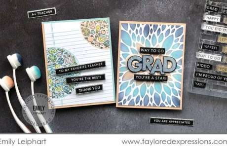 Teacher and Grad Cards