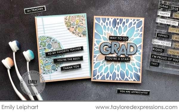 Teacher and Grad Cards