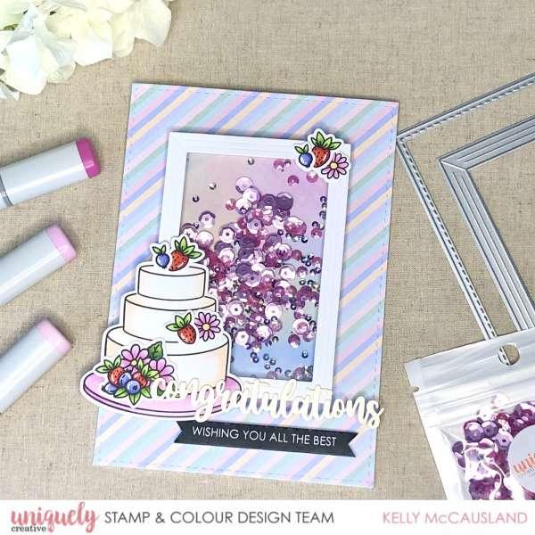 Wedding Shaker Card