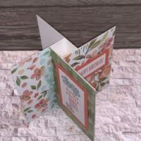 How to make a Pinwheel Fold Card