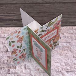 Pinwheel Fold Card
