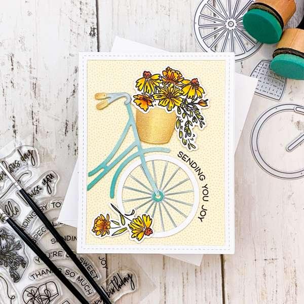 Summer Bike Card Tutorial