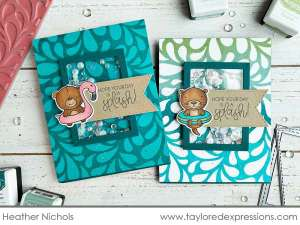 Otter Shaker Card with New MISTI Tools