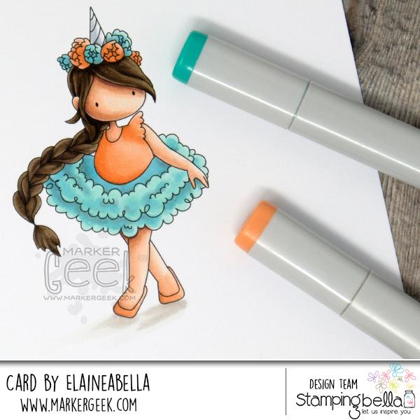 Copic Coloring Tutorial - Unicorn Girl