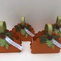 DIY Paper Pumpkin Treat Bags