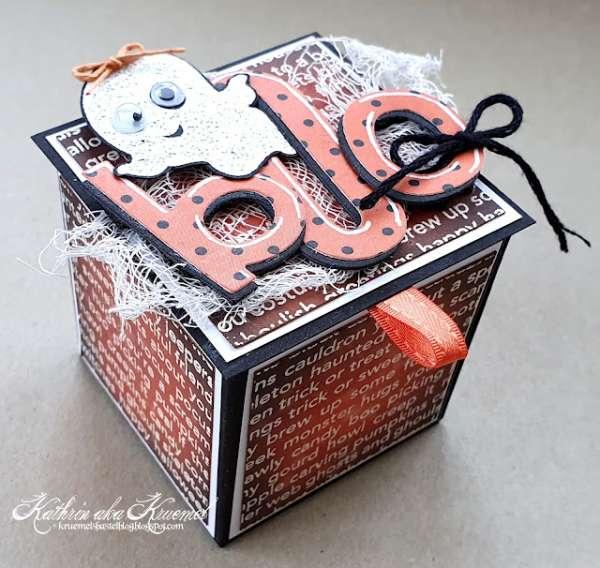 Pop Up Halloween Box