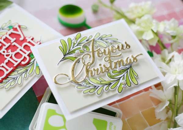 Botanical Swag Christmas Cards
