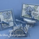 Good Morning Magnolia cards and treat holder for Facebook Live. #Stampin