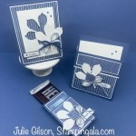 Love of Leaves greeting cards and treat holder/gift card holder. #Stampin