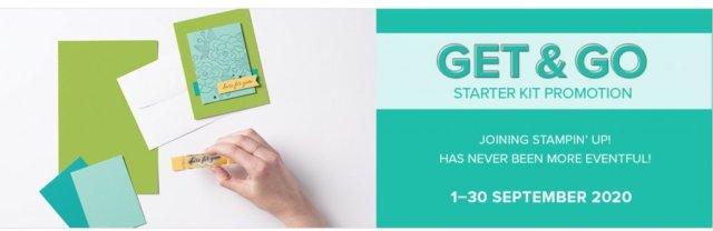 Starter Kit Promotion.  #Stampin' Up, #Stampin' Gala