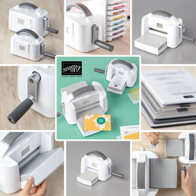 Stampin' Cut & Emboss Machine Now Available.