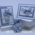 Christmas Card & Treat Holder created with Stampin