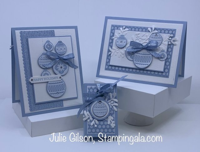 Christmas Card & Treat Holder created with Stampin' Up's Ornamental Envelopes Bundle.  #Stampin' Gala, #Stocking Stuffers, #Handmade Cards
