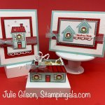 Christmas Cards and Treat Holder created with Stampin
