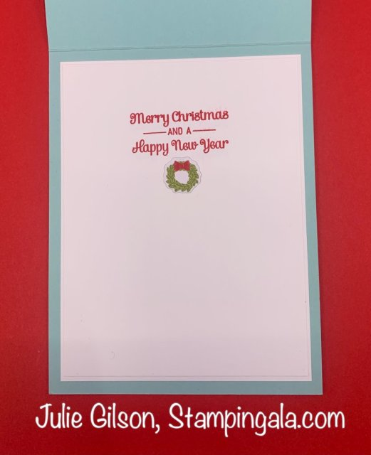 Christmas Cards and Treat Holder created with Stampin' Up's Coming Home Bundle. #Stampin' Up, #Stampin' Gala, #Handmade Cards, #Christmas Crafts