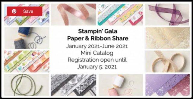 Designer Series Paper & Ribbon Share available from the Jan 2021 - Jun 2022 Mini Catalog. #Stampin' Up, #Stampin' Gala