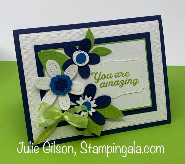 Greeting cards and hand sanitizer holder created with Stampin' Up's In Bloom Bundle.  #Stampin' Up, #Birthday cards, #3D, Stampin' Gala, #Handmade cards, #Teacher gifts, #Party favors