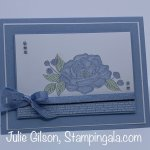Greeting card created with the So Much Love Stamp Set. #Stampin