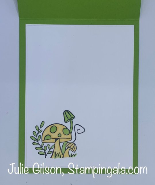 Greeting cards and treat holder created with Stampin' Up's Snailed It Bundle. #Stampin' Up, #Stampin' Gala, #Julie Gilson, #Handmade cards, #3d