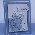 Greeting card created with the Good Morning Magnolia stamp set for Makeover Monday. #Stampin
