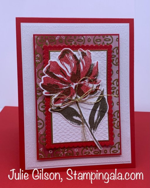 Greeting Cards and Treat Holder/Box created with Stampin' Up's Art Gallery Bundle. #Stampin' Up, #Stampin' Gala, #Julie Gilson, #Handmade cards, #Heat Embossing, #3D, Thinking of You