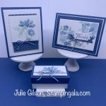 Greeting cards & box created with Stampin