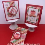 Greeting cards & treat bag created with Stampin