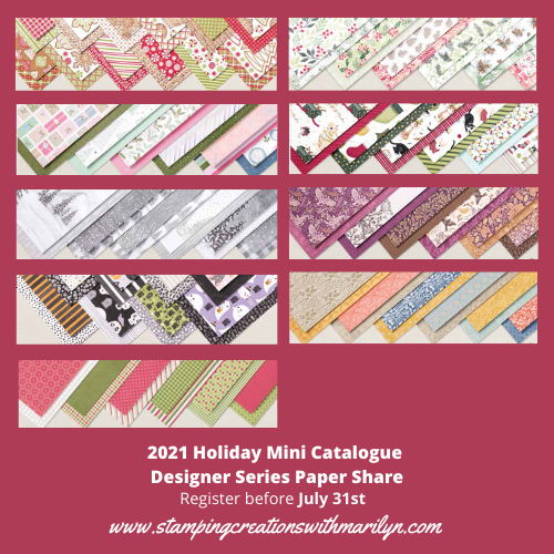 2021 Holiday Mini Paper Share