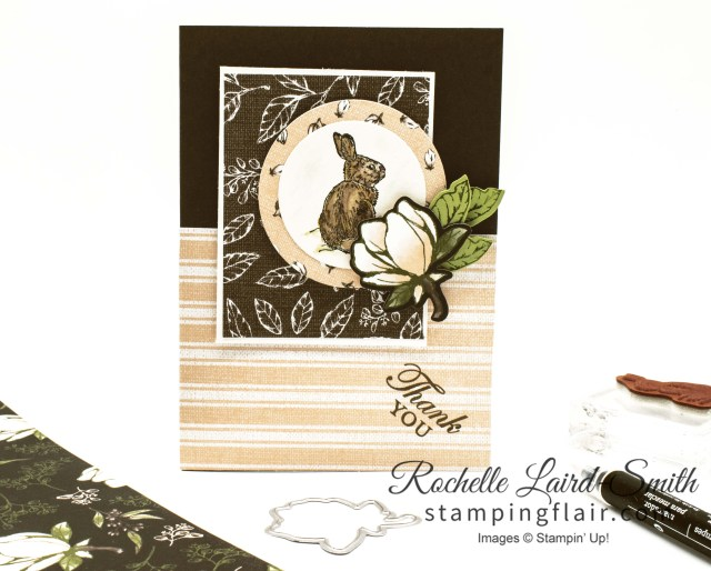 Bunny Handmade card with Stampin' Up! Designer Series Paper sale