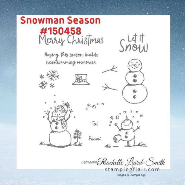 Snowman Season Stamp Sets