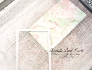 How to make a gift tag with a rectangle die