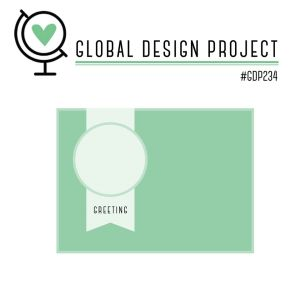Global Design Project, #gdp234, Stampin' Up!, Under my Umbrella punch