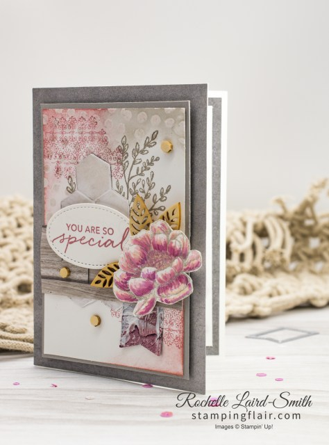 Tasteful Touches Bundle by Stampin' Up! full of textured effects