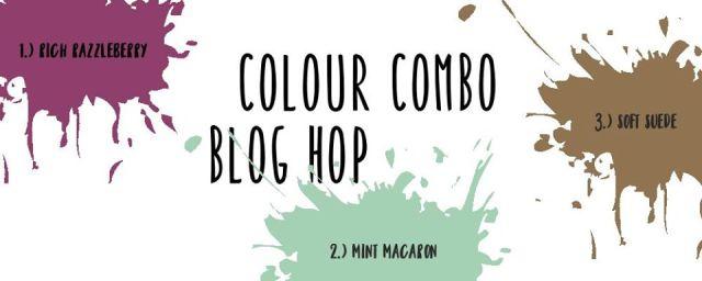 Colour Combo Blog Hop, August 2020