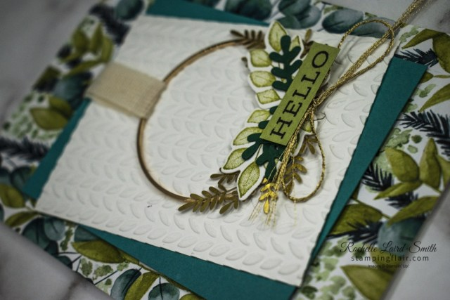 Forever Greenery card, Stampin' Up!