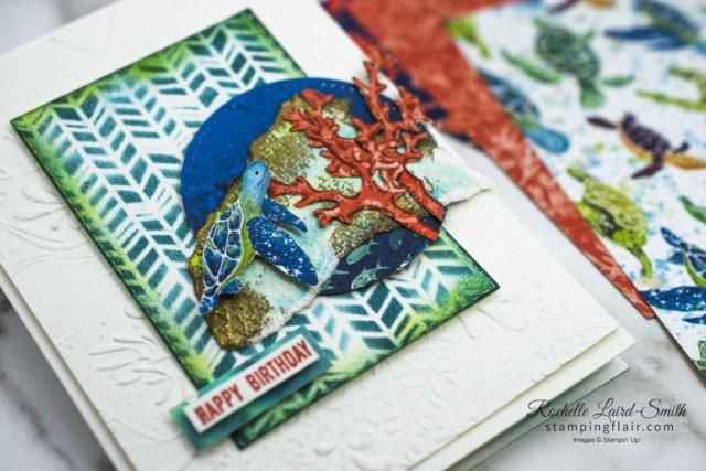 #gdp251, Turtle card, Aquatic theme