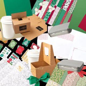 Christmas Papercraft Retreat, 2020 retreat, goodies