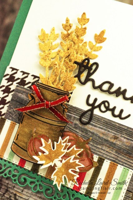 Joy of Sets Blog Hop, October 2020, Country Home Stamp set, Thank you card, Stampin' Up!, Beautiful Autumn Bundle, Stampin' Blends