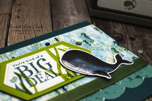 Fun ways with Designer Series Paper, Punch it out, Fun Ways with DSP, Whale Builder Punch, Whale of a Time DSP, Stampin' Up!, SU, DSP sale