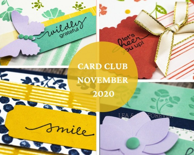 Card Club, Lovely You, November 2020, Monthly Club, Craft Kit, Papercraft
