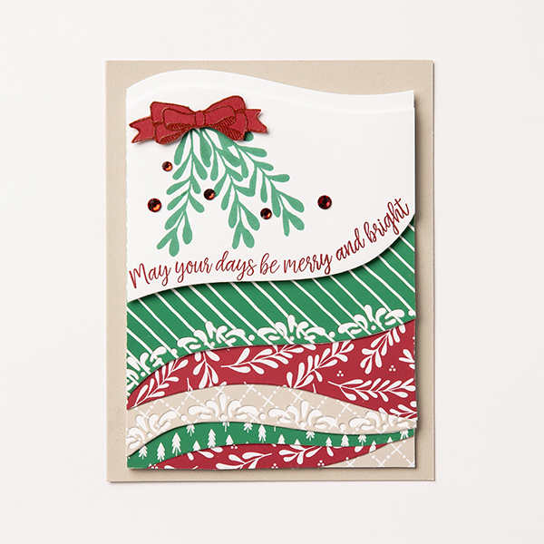 Curvy Christmas stamp set, Christmas card, SU, Stampin' Up!, Classic Christmas