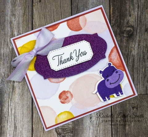 Joy of Sets Blog Hop, Thankful for you, November 2020, Hippo & Friends Bundle, Stampin' Up!, Rainbow Glimmer Paper, Playing with Patterns, SU, Hippo