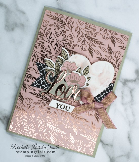 Forever & Always, Valentine's Card, Always in my Heart, Stampin' Up!, SU, Youtube tutorial