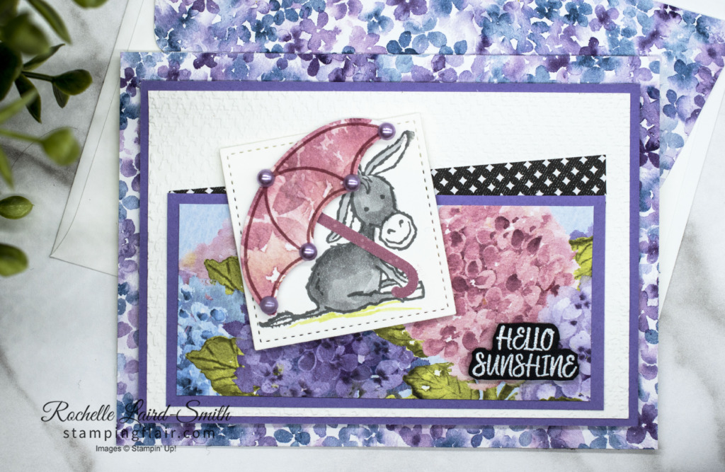 Ten Day Countdown to End of Sale-A-Bration Day 5, Hydrangea Haven, Darling Donkeys, Under my Umbrella, Stampin' Up!, SU, Sale-a-Bration 2021, SAB 2021