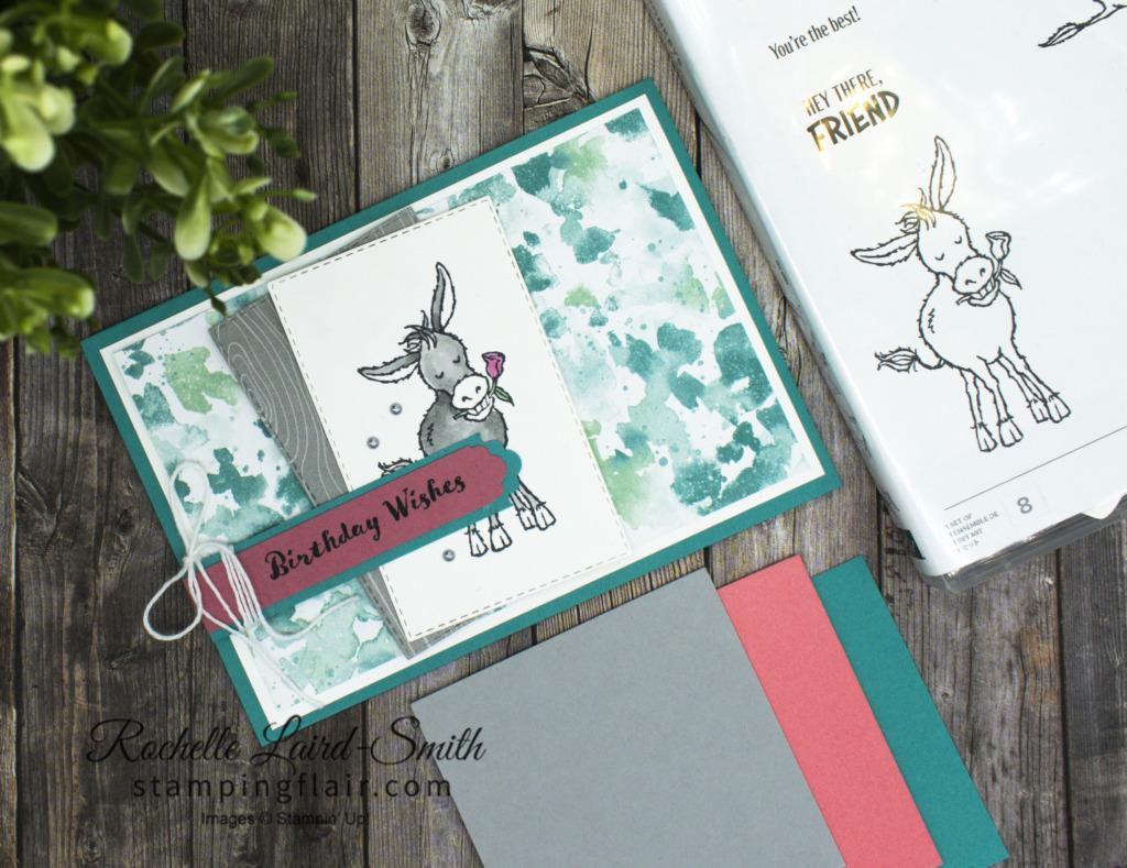 Darling Donkeys stamp set, Sale-A-Bration 2021, SAB 2021, Youtube tutorial, Stampin' Up!, SU