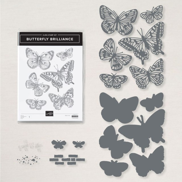 Butterfly Brilliance Bundle, Butterfly Bouquet Class in the Mail, Stampin' Up!, SU